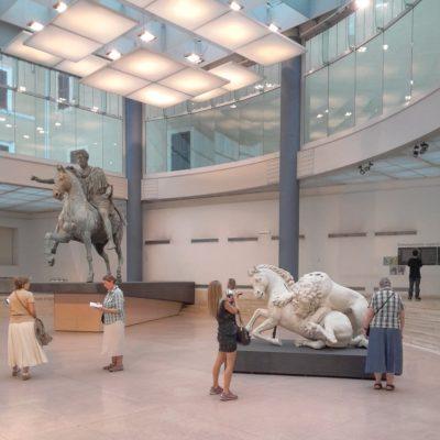 Giornate europee del Patrimonio musei Capitolini il Marco Aurelio
