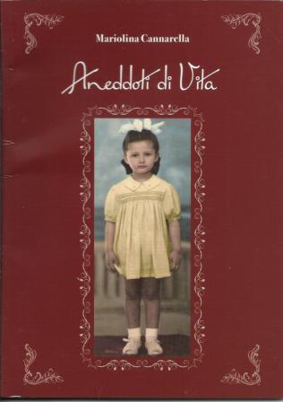 Mariolina Cannarella copertina Aneddoti di vita