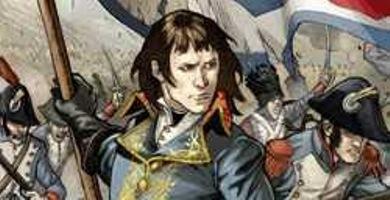 Napoléon a Palazzo Reale.Tavole originali di Fabrizio Fiorentino