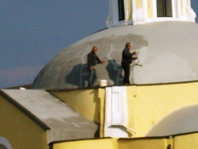 Operai lavoro chiesa sant'antonio (3)