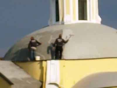 Operai lavoro chiesa sant'antonio (5)