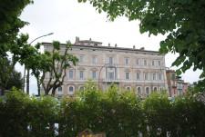 Veduta del Palazzo Sforza Cesarini