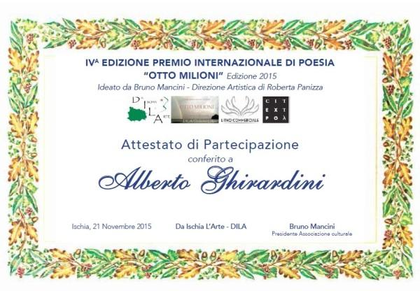 Pergamena Alberto Ghirardini