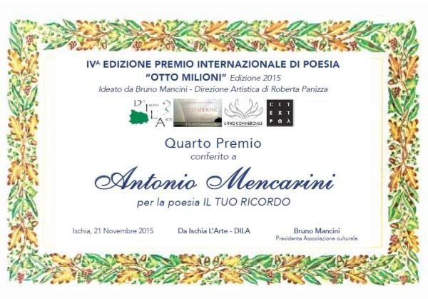 Pergamena Antonio Mencarini