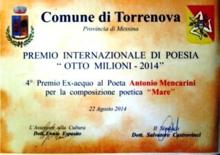 Premi torrenova otto milioni 2014 mencarini 1