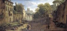 ROMA QUASI IERI dipinto di G Van Wittel
