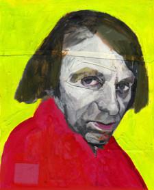 Ritratto Michel-Hoellebecq mostra ANDREA VENTURA NEW YORKER E DINTORNI