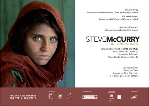 STEVE McCURRY - Icons and Women