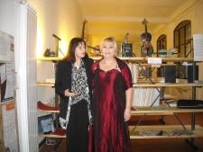 Santina Amici e Paola Occhi