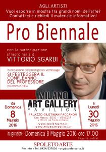 Silvana Lazzarino Manifesto Pro Biennale