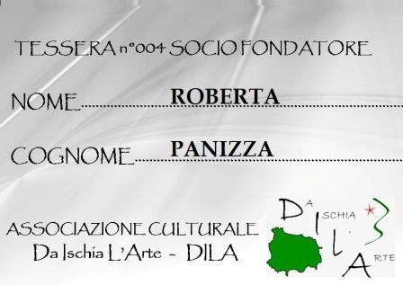 Tessera Fondatore 004 Roberta Panizza