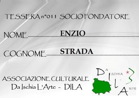 Tessera Fondatore 011 Enzio Strada