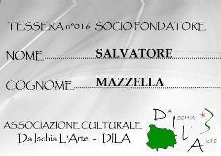 Tessera Fondatore 016 Salvatore Mazzella