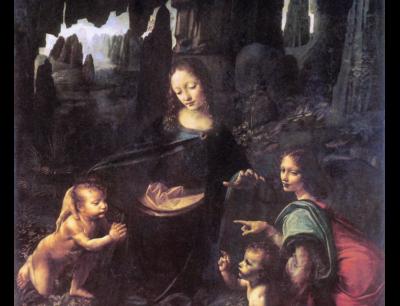 LEONARDO Vergine delle Rocce