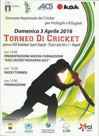 aics Torneo cricket 1 comp
