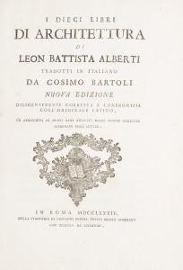 LIBRI AUTOGRAFI E STAMPE MINERVA AUCTIONS L libro Architettura di LB Alberti