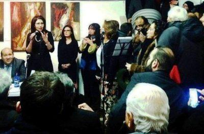DILA e Angela Maria Tiberi ospiti dell'Ambasciata egiziana