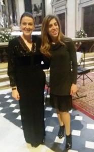 Santina Amici e Silvana Lazzarino
