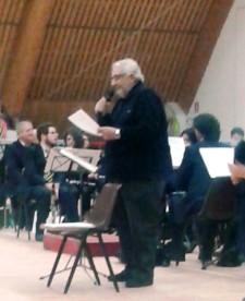 Antonio Mencarini legge le poesie di Bruno Mancini e Silvana Lazzarino