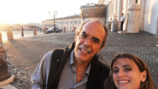 Dario Amadei ed Elena Sbaraglia