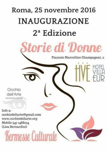 STORIE DI DONNE kermesse culturale Roma Eur