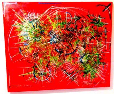 Il Maestro Andrea Trisciuzzi mostra Sala da Feltre Open Art,, Astrolabio