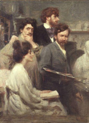 Giovanni Prini mostra Nello Specchio di Giacomo Balla