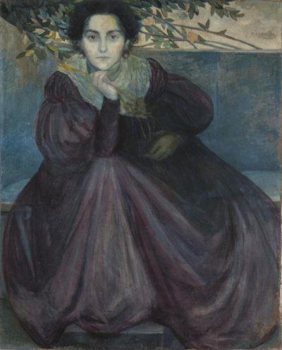 Giovanni Prini Ritratto della fidanzata Orazia Belsito