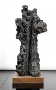 il San Sebastiano nero di Leoncillo Leonardi