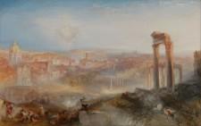 dipinto di Turner mostra Campidoglio. Mito, memoria, archeologia