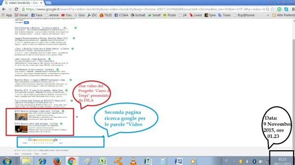 ricerca google video bookcity