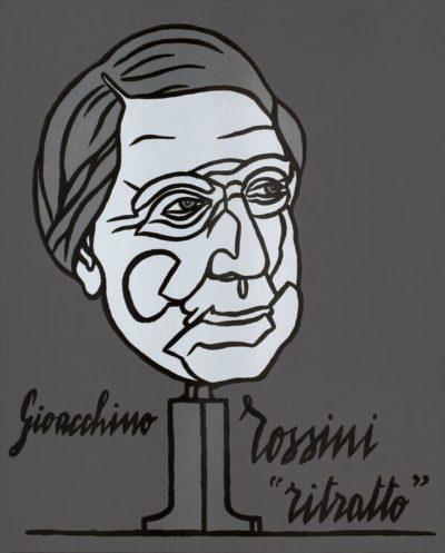 ritratto di Gioacchino Rossini galleria Andrè